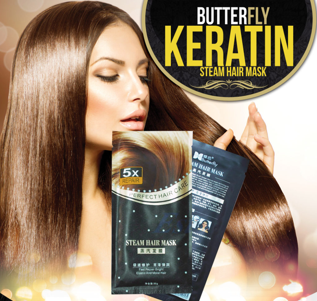 Keratin Steam Hair Mask