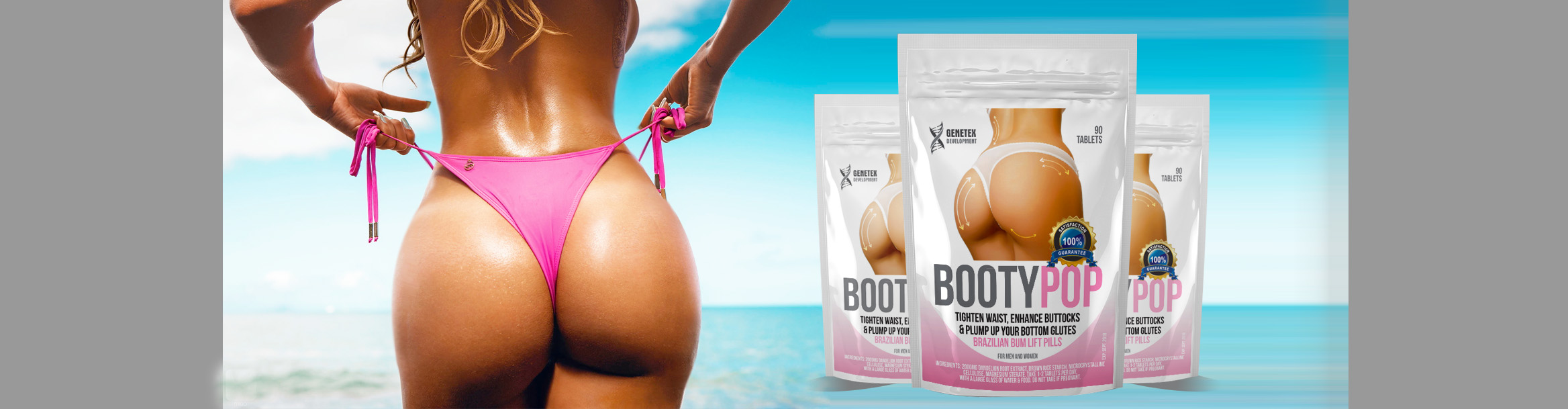 Brazilian Bum Lift Tablets