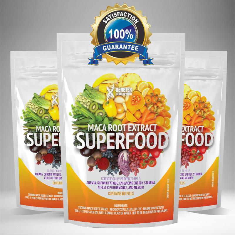 Maca Superfood Tablets