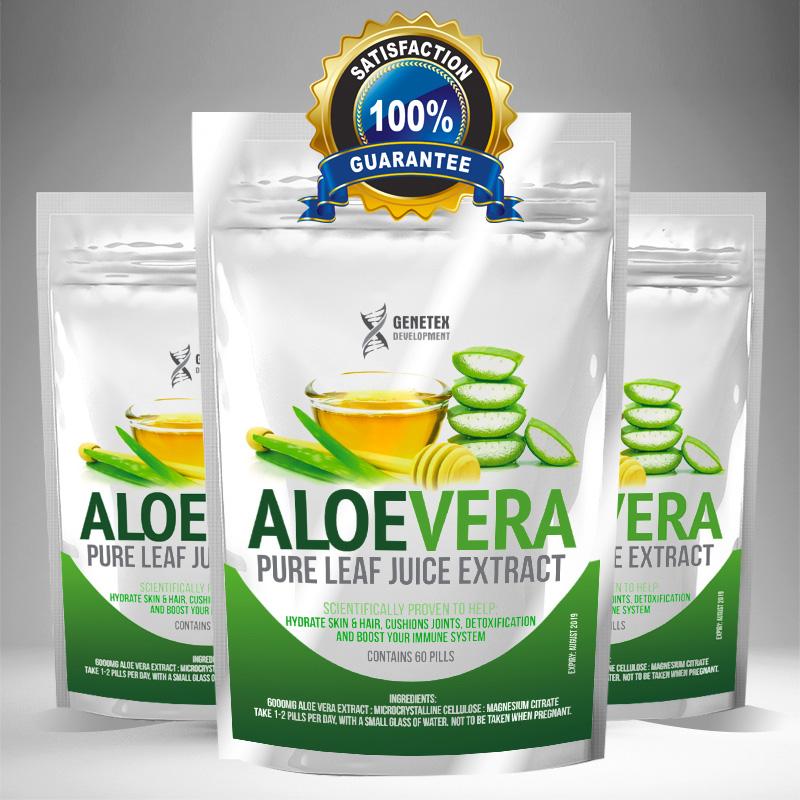 Aloe Vera Extract Tablet
