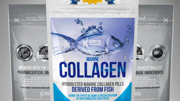 Hydrolyzed Marine Collagen pills
