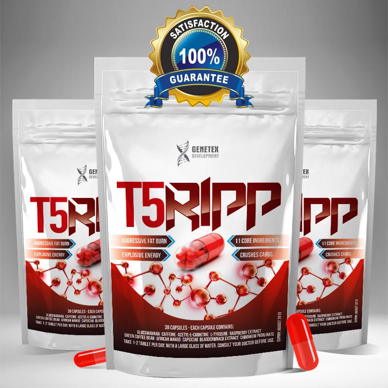 T5Ripp - weight loss fat burner