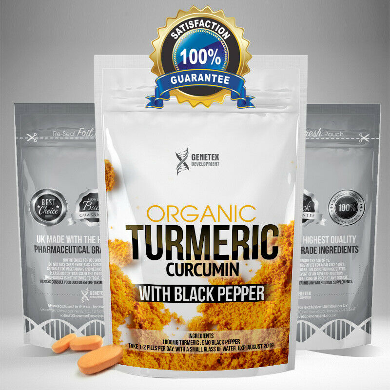 Organic Wonderherb Turmeric Tablets